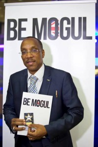 Showing off my BE MOGUL award in London (February 2016)