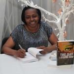 A proud Doris D. Charles . Photo courtesy David F. Roberts / CaribDirect