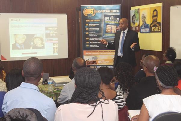 Personal empowerment coach and self-styled creative social entrepreneur, Anthony Abiola DADA (aka Tony DADA). Photo courtesy CaribDirect
