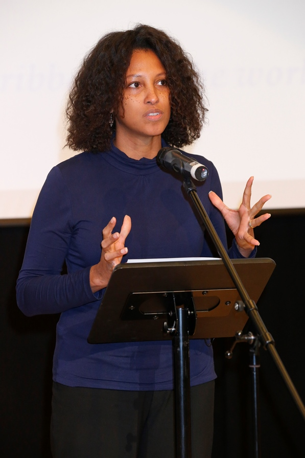 Grace Foods UK Head of Marketing Nyree Chambers. Photo courtesy CaribDirect