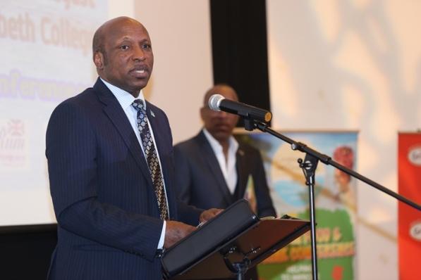 Saint Lucia High Commissioner H.E. Guy Mayers. Photo courtesy CaribDirect